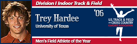 Trey Hardee, Men's Indoor Field Athlete of the Year