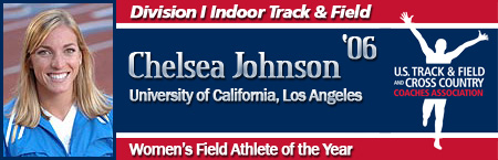 Chelsea Johnson, Women's Indoor Field Athlete of the Year