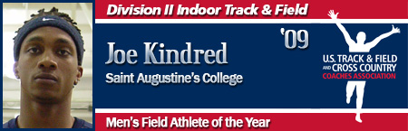 Joe Kindred, Men's Indoor Field Athlete of the Year
