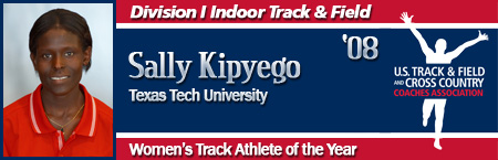 Sally Kipyego, Women's Indoor Track Athlete of the Year