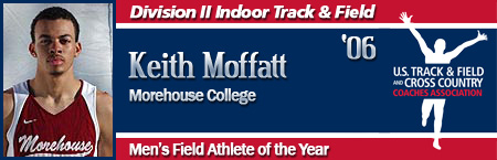 Keith Moffatt, Men's Indoor Field Athlete of the Year