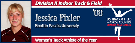 Jessica Pixler, Women's Indoor Track Athlete of the Year