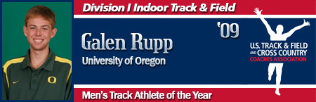 Galen Rupp, Men's Indoor Track Athlete of the Year