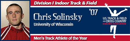 Chris Solinsky, Men's Indoor Track Athlete of the Year