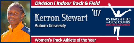 Kerron Stewart, Women's Indoor Track Athlete of the Year