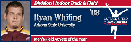Ryan Whiting, Men's Indoor Field Athlete of the Year