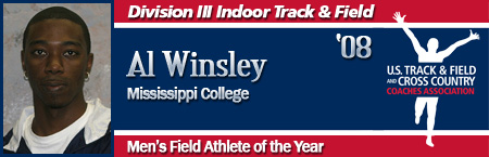 Al Winsley, Men's Indoor Field Athlete of the Year