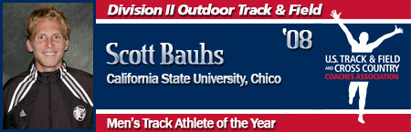 Scott Bauhs, Men's Outdoor Track Athlete of the Year