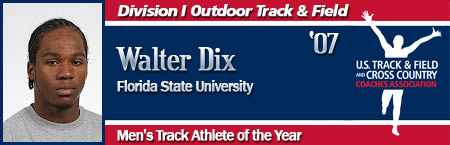 Walter Dix, Men's Outdoor Track Athlete of the Year