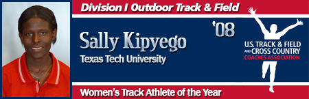 Sally Kipyego, Women's Outdoor Track Athlete of the Year