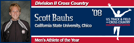 Scott Bauhs, Men's XC Athlete of the Year