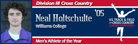 Neal Holtschulte, Men's Cross Country Athlete of the Year