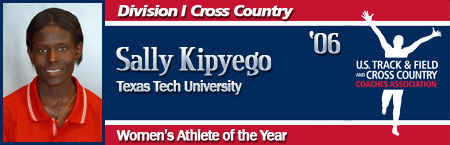 Sally Kipyego, Women's Cross Country Athlete of the Year