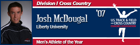 Josh McDougal, Men's Cross Country Athlete of the Year