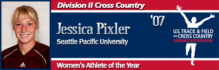 Jessica Pixler, Women's Cross Country Athlete of the Year