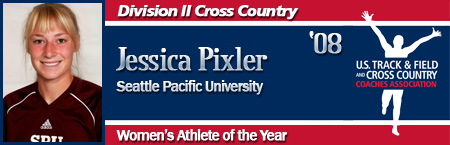 Jessica Pixler, Women's XC Athlete of the Year