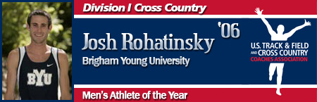 Josh Rohatinsky, Men's Cross Country Athlete of the Year