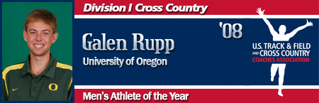 Galen Rupp, Men's XC Athlete of the Year