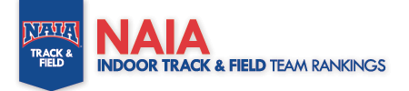 NAIA Indoor Rankings