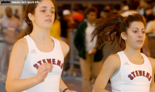 Stevens Tech Women's Track Breaks Four School Records at NYU Invite