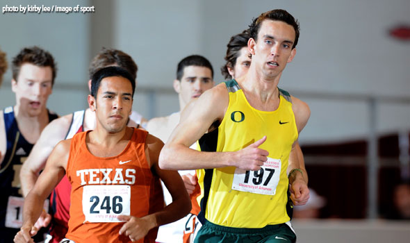 Oregon Opens '09 as Top Men's Division I Indoor Track and Field Team