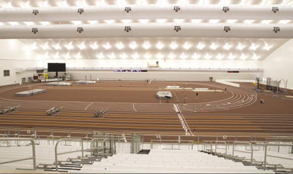 Texas A&M Aggies open 2009 indoor season with a new home