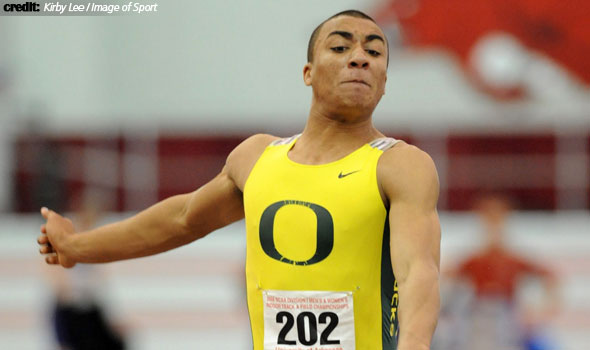 Ashton Eaton Smashes UO Heptathlon Record with NCAA's No. 2 All-Time Mark