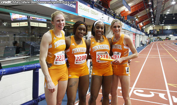 Lady Vol DMR Adds American Record to its Haul in New York