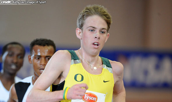 Oregon Tops Men's Division I Indoor Track and Field Rankings