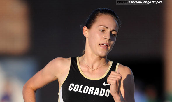 Colorado's Jenny Barringer Sets School 3k Record