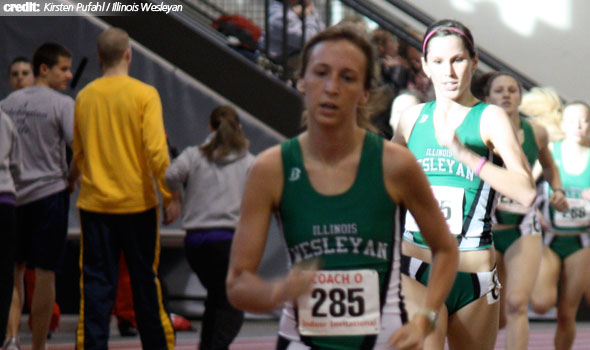 Illinois Wesleyan Moves to Top of Women's Division III Indoor Dual Meet Rankings