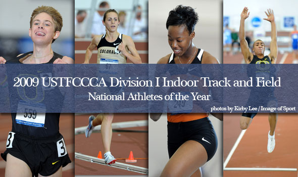 Four Honored as Division I National Indoor Track and Field Athletes of the Year