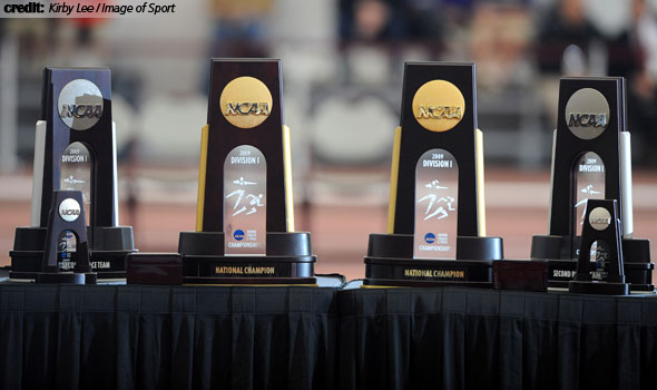 Four Honored as Division I National Indoor Track and Field Coaches of the Year