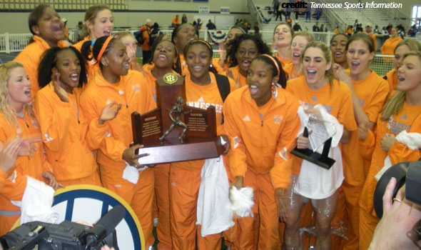 Lady Vols Win Third SEC Indoor Track & Field Title in Five Seasons