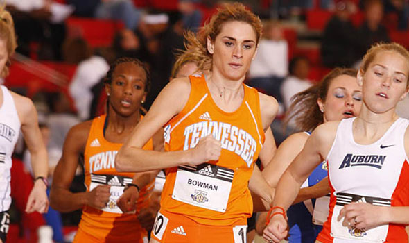 UT Standout Sarah Bowman Wins Historic SEC 3,000 meter Title