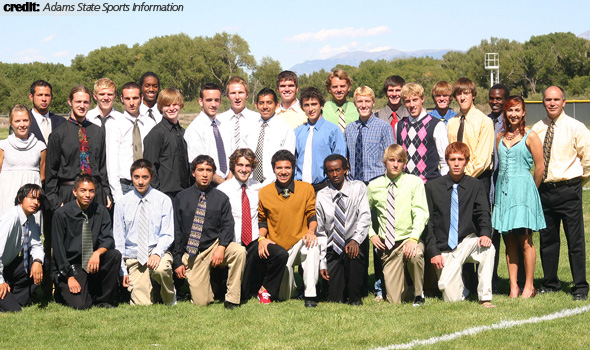 Adams State Named 2008 USTFCCCA Men's Cross Country Scholar Team of the Year