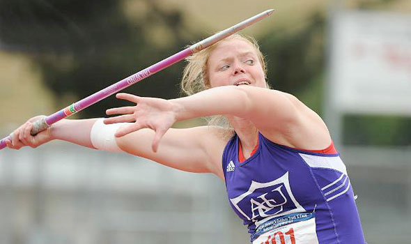 ACU's Linda Brivule Wins Javelin With Record Throw at Texas Relays