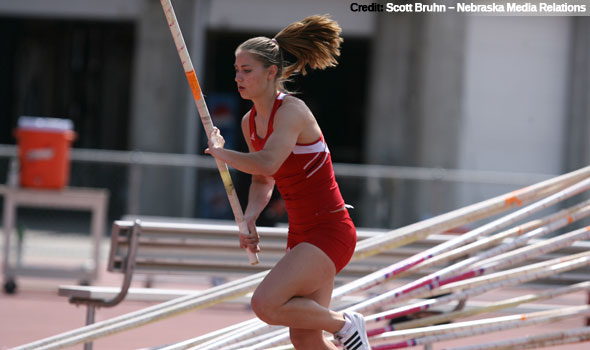 Nebraska's Natalie Willer Tops NCAA List with Record Vault