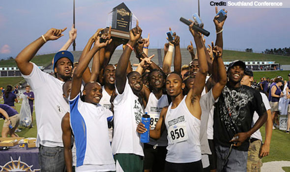 Southeastern Louisiana Men's Track Rallies to Claim First Southland Crown