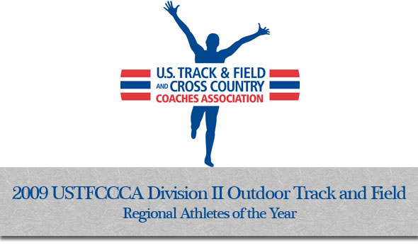 USTFCCCA Announces Division II Outdoor  Track & Field Regional Honorees