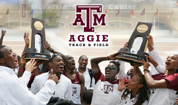 Top Ranked Texas A&M Sweeps NCAA Outdoor Titles