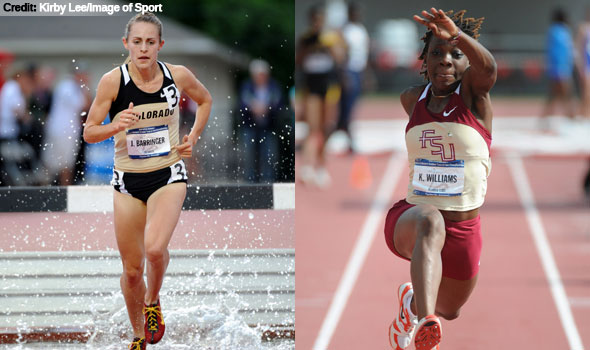 Barringer, Williams Named USTFCCCA Women's National Athletes of the Year