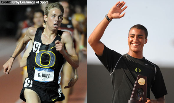 Oregon Duo Named USTFCCCA Men's National Athletes of the Year