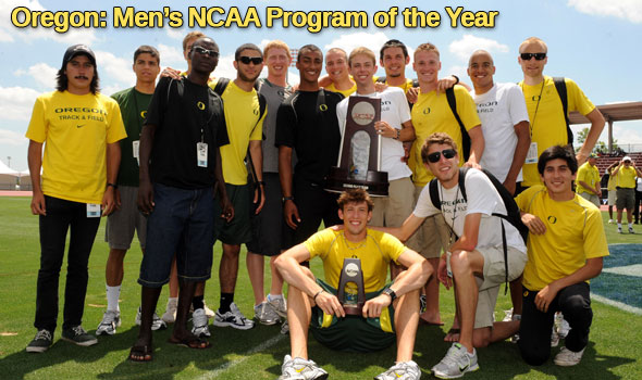 Oregon Men Win Inaugural John McDonnell Program of the Year Award
