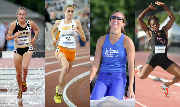 Barringer, Bowman, Hutson, and Williams Lead Record 531 Division I Women's Track and Field Student-Athletes Honored for Achievements in Athletics, Academics