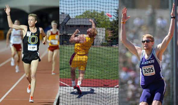 Arizona State's Lewis, Oregon's Rupp, and Kansas State's Sellers Top USTFCCCA Division I Men's All-Academic Track & Field Selections