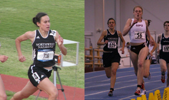 Pixler, Puga Headline 2009 Division II Women's Track & Field Scholar Athletes of the Year