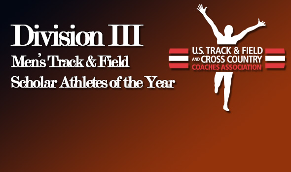 National Champions Johnson, Solveson Highlight USTFCCCA Division III Men's All-Academic Track and Field Teams