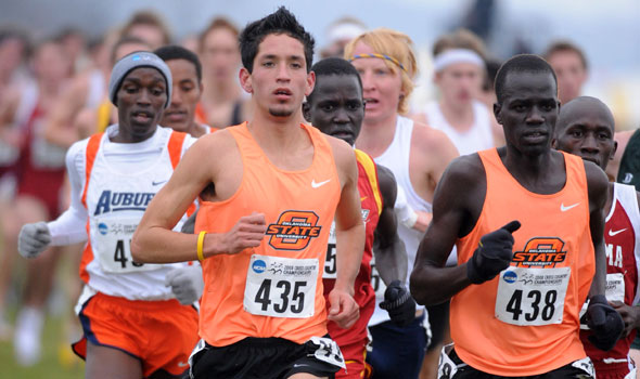 View the Division I Men's Cross Country Regional Rankings