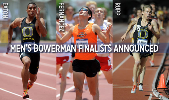 Eaton, Fernandez, and Rupp Named Men's Bowerman Finalists